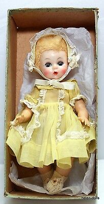 Vintage 8 In. Little Genius Doll With Original Box - In Very Good Condition
