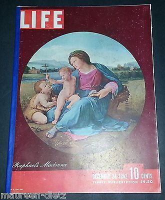 December 28, 1942 LIFE Magazine 40s advertising ads ad FREE SHIPPING Dec 12 13