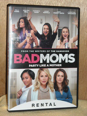 Bad Moms (DVD, 2016) Mila Kunis Kristen Bell comedy