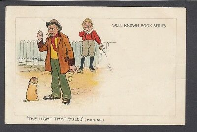 """Comic - Well Known Book Ser """"The Light that Failed"""" art Ritchie - H.M. & Co 303"""