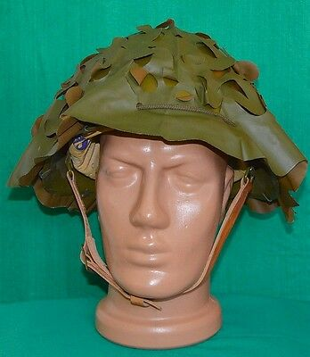 French Army Headgear M51 Camouflage SALAD Cover Net