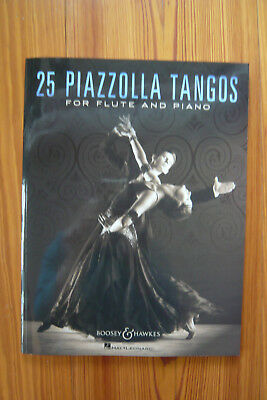 25 Piazzolla Tangos for Flute and Piano - Mängelexemplar