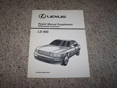 2000 lexus ls400 service repair manual software