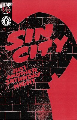 Sin City Just another Saturday Night No.1/2 Ltd. Wizard Edition with Certificate