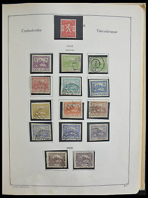 Lot 28305 Collection stamps of Czechoslovakia 1918-1992.