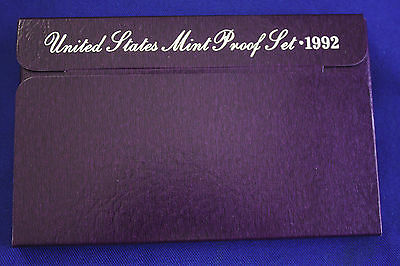 1992-s  U.S.Proof set. Genuine. complete and original as issued by US Mint.
