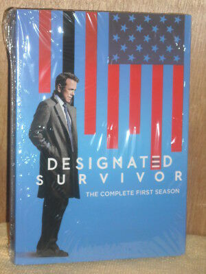 Designated Survivor: The Complete First Season (DVD, 2017, 5-Disc Set)