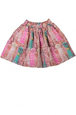 Paper Wings Skirt Horse Ribbons Shirred Equestrian Boutique NEW Girl sz 2 5 7 12