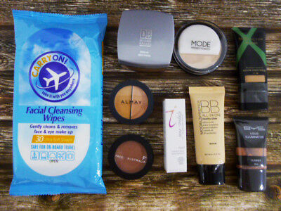 Bulk lot of makeup items, Jane Iredale, Max Factor, Face of Australia, BYS