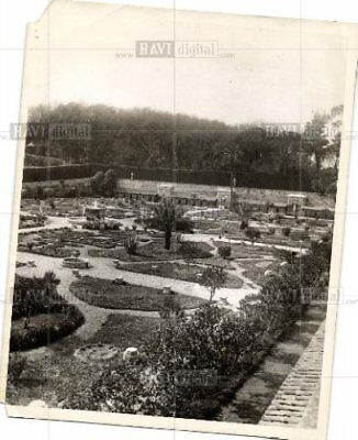 1927 Press Photo Garden of the Popes Vatican pope