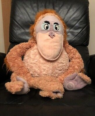 "Large 18"" King Louie Jungle Book Soft Toy - Disney Store"