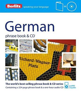 Berlitz: German Phrase Book & CD by Berlitz Publishing Company (Paperback, 2012)