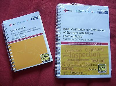 NICEIC INSPECTION & TESTING LEARNER GUIDES CITY & GUILDS 2391 2394 2395 or EAL