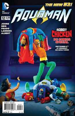 AQUAMAN #12 Variant Robot Chicken Special DC 1st Print Sold Out NM to NM+