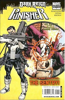 PUNISHER Dark Reign #1 Variant Marvel 1st Print Sold Out NM to NM+ 129 Homage
