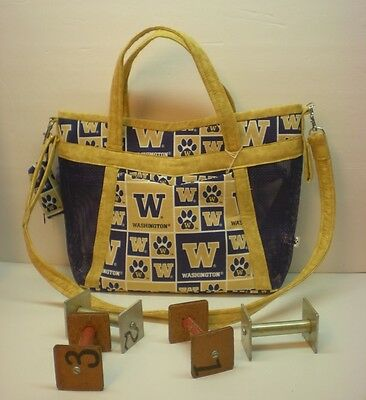 Handmade Obedience Article Bag University of Washington-Made in USA **CC**