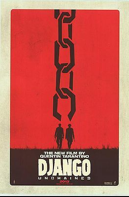 Django Unchained - original DS movie poster  D/S 27x40 Adv - INTL