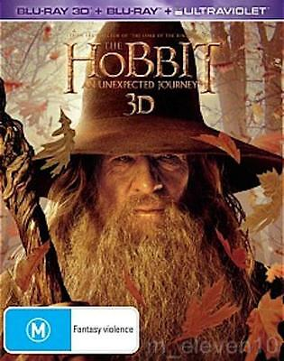 THE HOBBIT 1 : An Unexpected Journey : Blu-Ray 3D / UV NEW