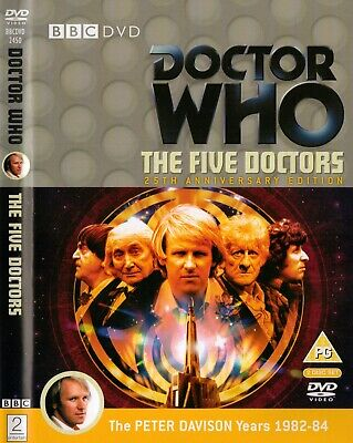 Doctor Who The Five Doctors 2xDVDs R4 Dr. Who dr who