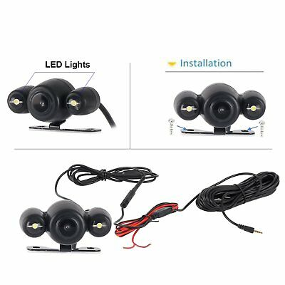 Waterproof  Wired Car Reversing View Camera 2.5mm Plug LED Night vision