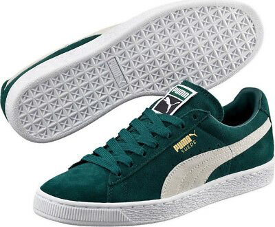 Puma Suede Classic+ Mens Trainers - Green