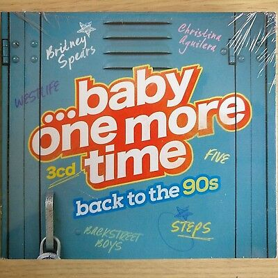 3CD NEW - BACK TO THE 90s - BABY ONE MORE TIME - Pop 90's Music 3x CD Album