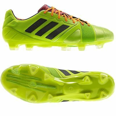 75781752c728 Adidas Nitrocharge 1.0 TRX FG Lime Green Performance Mens Football Soccer  Boots