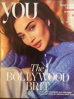 You Magazine January 2018: AMY JACKSON COVER STORY