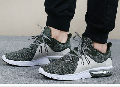 765650159b NEW NIKE AIR Max Sequent 3 Mens green beige sneaker all sizes ...