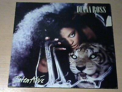 LP DIANA ROSS * Eaten Alive (Chain Reaction)