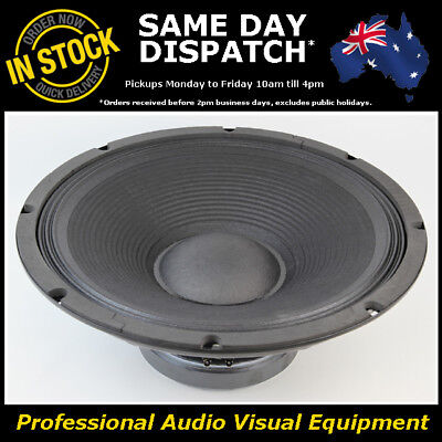 "15"" 400WRMS 8 Ohms PA DJ Speaker Subwoofer Sub Driver 15 Inch Quality Woofer"