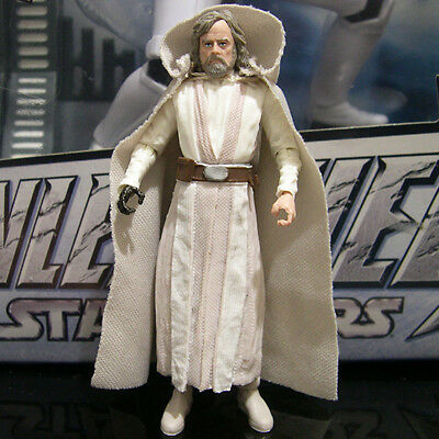 "STAR WARS the black series LUKE SKYWALKER Jedi Master last jedi 3.75"" Walmart"