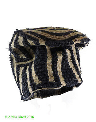 Bamileke Hat Woven Cameroon African Art SALE WAS $275