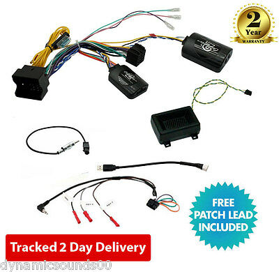CTSBM013.2 Steering Wheel & Warning Tone Interface for BMW 1 3 5 6 7 Series Mini