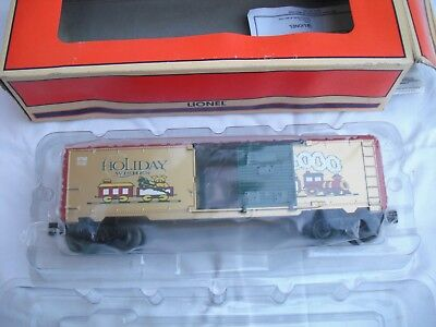 Lionel 6-26272 Christmas 2000 Xmas Holiday Wishes BoxCar Box Car, O Scale