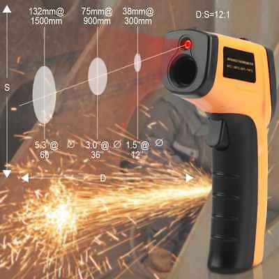 LCD Digital Infrared Temperature Meter Point-50-330 Graden Contact Thermometer
