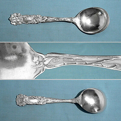Alvin Sterling Gumbo Soup Spoon(S) ~ Bridal Rose ~ Mono Acl