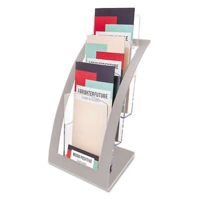 deflecto® Three-Tier Leaflet Holder, 6 3/4w x 6 15/16d x 13 5/16h 079916028040