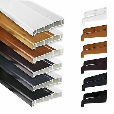 150mm UPVC External Sill for Window Door Patio PVC Plastic Outside Cill + Caps