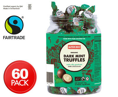 Alter Eco Dark Mint Truffles Tub 60pk