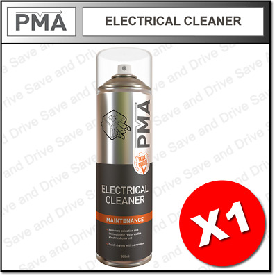 1 x PMA Electrical Contact Cleaner Quick Drying Professional Aerosol 500ml ELCLE