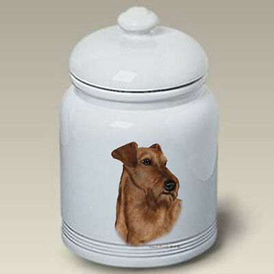 Ceramic Treat Cookie Jar - Irish Terrier (TB) 34220