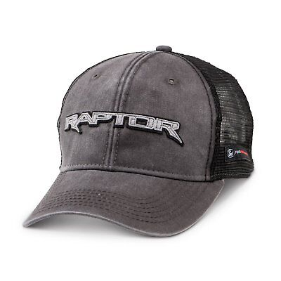 Ford F-150 Raptor Mesh Back Gray Baseball Cap