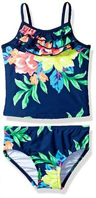 Carter's Toddler Girls Two Piece Floral Print Tankini Set Size 2T 3T
