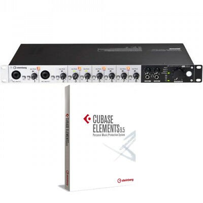 Steinberg UR824 USB 2.0 Audio Interface W/ Cubase AI Audio Software *New*