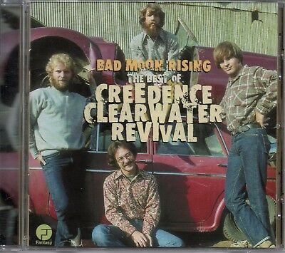 CREEDENCE CLEARWATER REVIVAL - Bad Moon Rising (The Best Of) - CD Album *Hits*
