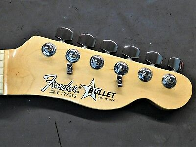 "1983 Fender USA ""Bullet"" Maple NECK American Vintage 80's Electric Guitar Tele"
