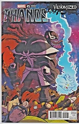 Thanos #5 Guillory Venomized Variant Marvel 2017 in 9.4