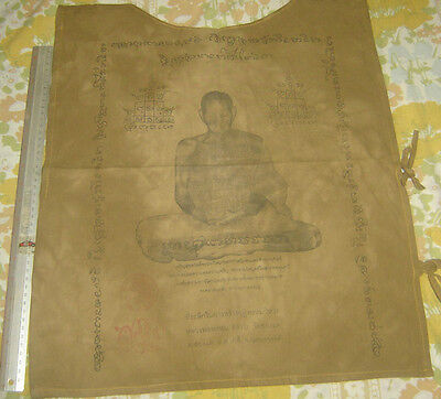 """Suaw-Yahn""Buddha  coat Holy Yantra Cloth""Lung Poo Prom from Wat Chongcare Templ"