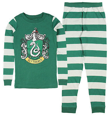 New w/tag Intimo Harry Potter Kids All Houses Crest Pajamas Slytherin sz:14